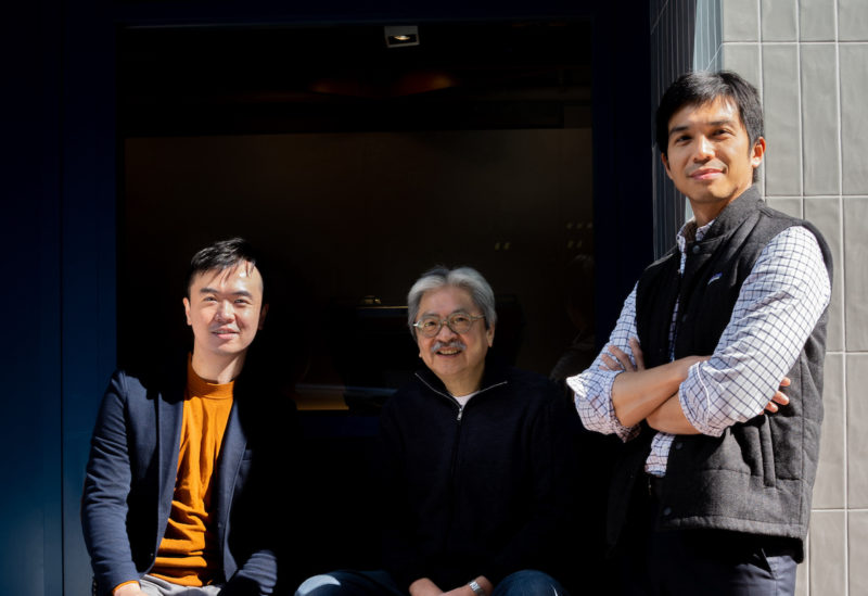 Bowtie聯合創辦人兼聯合行政總裁 Fred (左), Michael (右) 和John。